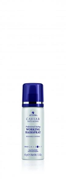 ALTERNA Caviar Professional Styling Working Hairspray mini 43g