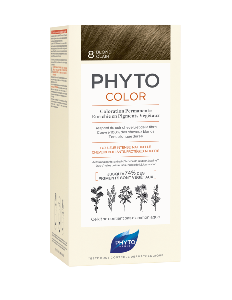 PHYTOCOLOR 8 Helles Blond 2x50 ML