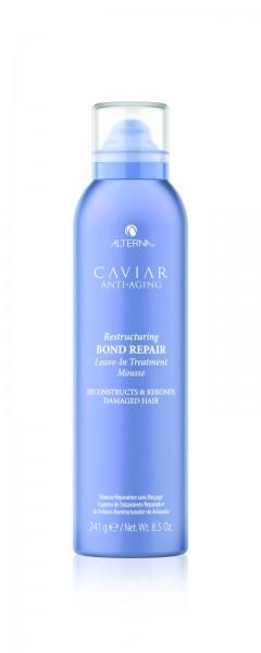 ALTERNA Caviar Restructuring Bond Repair Leave-In Treatment Mousse 241g