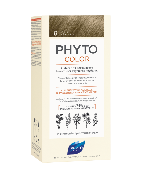 PHYTOCOLOR 9 Sehr helles Blond 2x50 ML