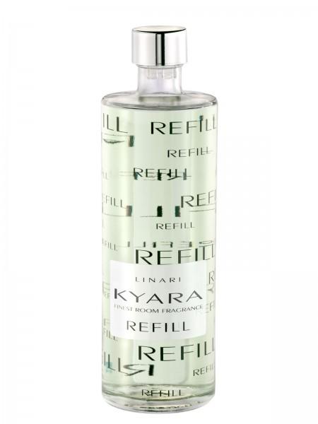 LINARI DIFFUSOR-REFILL KYARA mit schwarzen Stäbchen 500ml