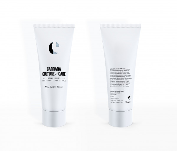 Carrara Whitening Toothpaste with Marble - Mint Lemon 75ml