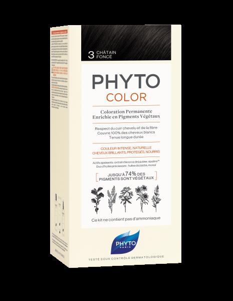 PHYTOCOLOR 3 Dunkelbraun 2x50 ML