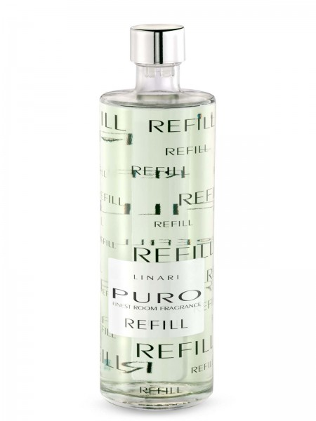 LINARI DIFFUSOR-REFILL PURO mit schwarzen Stäbchen 500ml