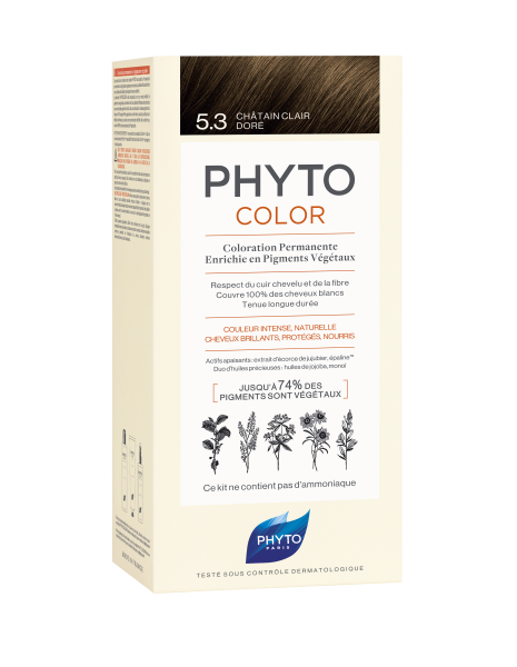PHYTOCOLOR 5.3 Helles Goldbraun 2x50 ML