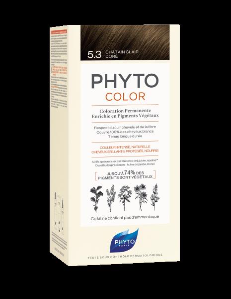 PHYTOCOLOR 5.3 Helles Goldbraun 2x50 ML