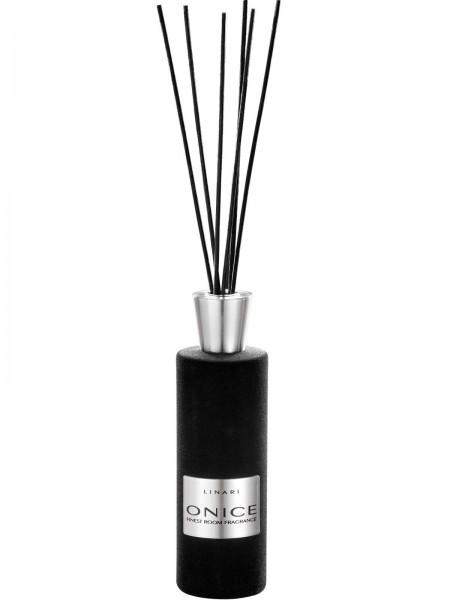 LINARI DIFFUSOR ONICE mit schwarzen Stäbchen 500ml