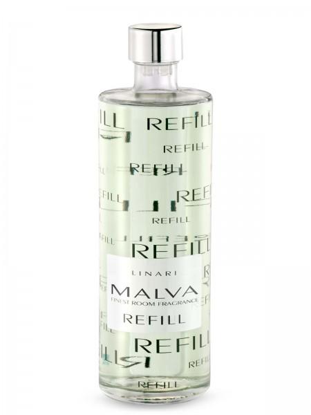 LINARI DIFFUSOR-REFILL MALVA mit hellen Stäbchen 500ml