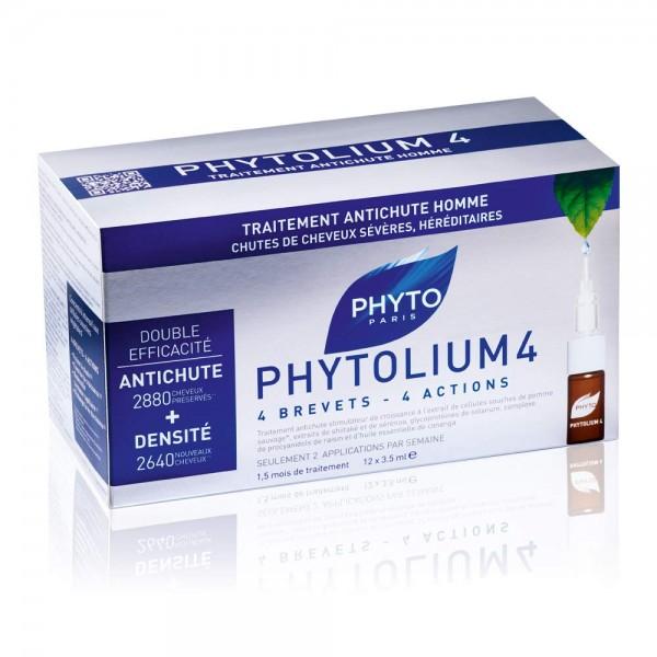 PHTOLIUM4 Ampullen gegen Haarausfall MÄNNER 12x3,5ml