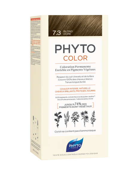 PHYTOCOLOR 7.3 Goldblond 2x50 ML