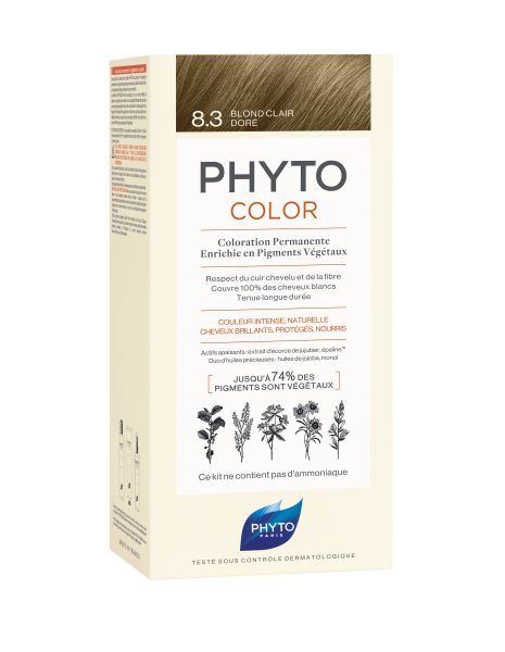 PHYTOCOLOR 8.3 Helles Goldblond 2x50 ML