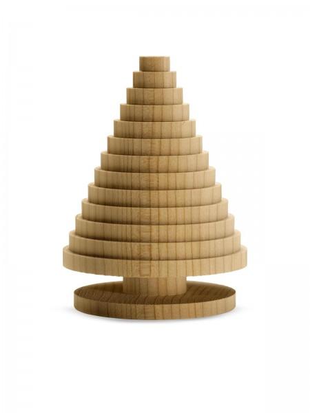 LINARI ALBERO DI NATALE Kleiner Libanonzeder-Weihnachtsbaum H10,1 cm x D7,4 cm