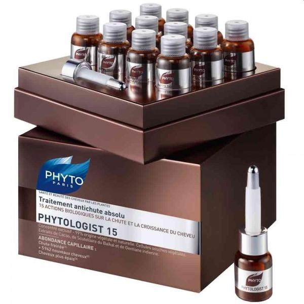 PHYTO PHYTOLOGIST15 Anti-Haarausfall Ampullen 12x3,5ml