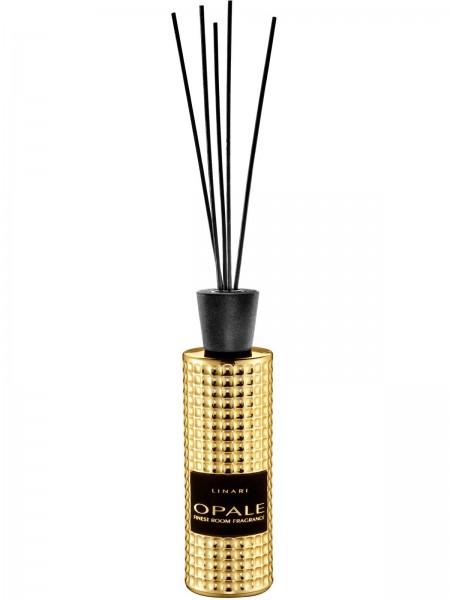 LINARI DIFFUSOR OPALE mit schwarzen Stäbchen 500ml