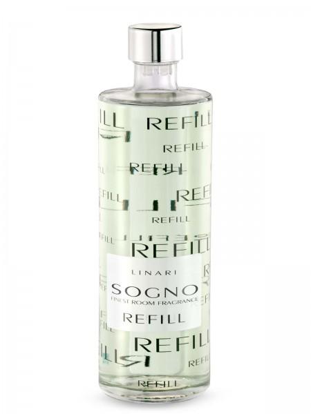 LINARI DIFFUSOR-REFILL SOGNO mit hellen Stäbchen 500ml