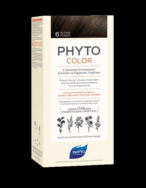 PHYTOCOLOR 6 Dunkelblond 2x50 ML