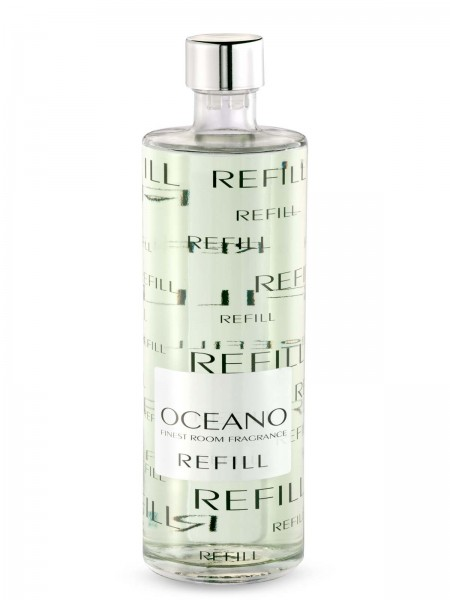 LINARI DIFFUSOR-REFILL OCEANO mit hellen Stäbchen 500ml